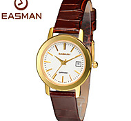 EASMAN Women Swiss Watches Quartz Watch High Quality Brand Clock Ladies Genuine Leather Switzerland Gold Watches