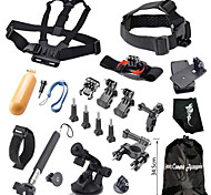 Gopro Accessories Monopod / Screw / Buoy / Suction Cup / Straps / Clip / Hand Grips/Finger Grooves / Mount/Holder / Accessory KitFor-