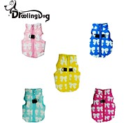 Dog Hoodies - XS / S / M / L / XL - Winter - Blue / Pink / Yellow - Keep Warm - Cotton