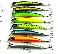 Anmuka Minnow Crank 7.3g 9.5cm 8pcs  Sea Fishing / Boat Fishing / General Fishing