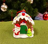 ornements de Noël, biscuits de Noël argile maison mari