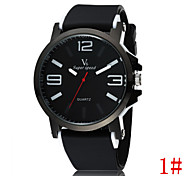 Men's Fashion Models Wild Fashion Simple Large Digital Sports Fashion Statement Cool Watch Unique Watch