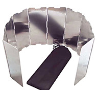 at6344 10 pièces en alliage d'aluminium de déflecteur de vent