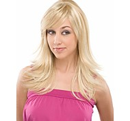 Top Quality Blonde Synthetic Hair Wave  Wigs To European  Women Lady Lovely