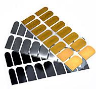 1pcs Full Metal Nail Stickers
