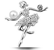 le nozze sposa ragazza balletto spilla di perle