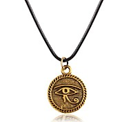 Designer Jewelry Vintage Evil Eye Pendant Necklace
