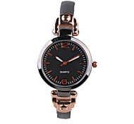 Fashion Fine Slim  Color Belt Quartz Female Fashion Watch