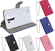 LG G3 PU Leather Full Body Cases / Cases with Stand Special Design / Diamond Look case cover