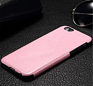 Colorful TPU+Leather Luxury Ultra Leather Cover for iPhone 6 (Assorted Colors)