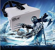 "IBlue®Head Mount Plastic Version VR Virtual Reality Glasses Cardboard 3d Game Movie for 3.5"" - 6.0"" Smart Phone"