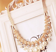New Arrival Fashion Jewelry Fresh Crystal Pearl Necklace