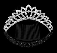 Wedding Hair Accessories Bride Bridal Sectorial Hair Comb Tiara Crown