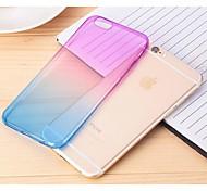 gradualmente cambiando colore Back Cover per iPhone 6s / 6 (colori assortiti)