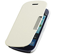 Frosted Design Magnetic Buckle Full Body Case for Samsung Galaxy S3 Mini I8190