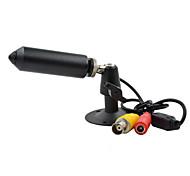 Mini color de bala agujero de alfiler impermeable de seguridad CCTV cámara de vigilancia w124-10