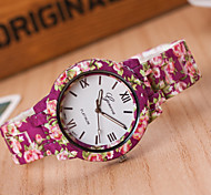 Woman Alloy Flower Wrist  Watch