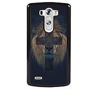 The Lion and Cross Design Metal Hard Case for LG L90/ G3/ G4
