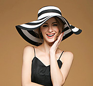 Women Linen/Straw Floppy Hat , Cute/Party/Casual Summer