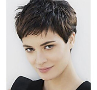Charming Style Natural  Color Short Syntheic  Wave Wig