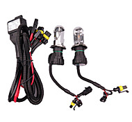 2PCS HID Xenon H4-8000K-55W with Wire Set