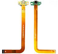 Ersatzflexkabel w / Ladegerät-Anschluss / Kopfhöreranschluss für HP Slate 7 - golden grün +