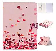 l'arrivo in amore modello di disegno e slot per scheda di TPU panno tessile colorato stents il rivestimento per Apple iPad 2 aria