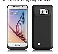 Back Clip Battery Rechargeable External Battery Power bank Case for Samsung Galaxy S6