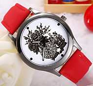 Ladies' Watch China Wind Garden Style Ancient Vase Belt Quartz Watch Cool Watches Unique Watches
