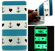 Back Cover Glow in the Dark Anchor TPU Soft Case Cover For Nokia Nokia Lumia 540