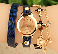 Latest Listing Tricyclic Surround Fashion Ladies Watches Rose Gold