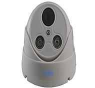 SEEHOO® 1/4 CMOS 900TVL 2 LED Array Big Dome Plastice Outdoor Used HD Day&Night
