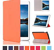 slim-fit fólio pu tablet couro case inteligente para mini-Apple iPad 4 (cores sortidas)