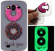 Double Color Doughnuts Luminous Dream Catcher Pattern Sofe TPU Case for Samsung Galaxy I9060/G530/G360/J3/J1 ACE/ON5/ON7