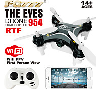 FQ777-954 The eyes RC Quadcopter Wifi Control FRV Nano Drone Smallest UAV 2.4G 4CH RC Quadrocopter RTF