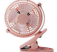Desktop Fan For Chlidren Chargeable Fan Clip Base 2 Speeds Mini Portable Fan Battery or USB Power Supply
