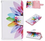 мода шаблон PU кожаный чехол с подставкой и держателем карты для Nokia Lumia 550 (ассорти цветов)