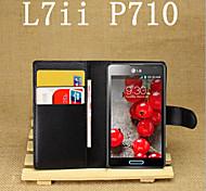 geprägte Kartenhalterung Schutzhülle für LG Optimus L7 ii P710 Handy