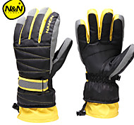 Warm Thicken Ski Gloves Women Waterproof Child Snowboard Gloves Motorcycle Gloves Men Skiing Gloves NS5002