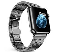 Edelstahl Ersatzarmband für Apple Uhrendoppelknopfmetallschließe klassischen iwatch Armband