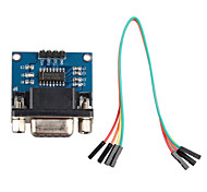 RS232 Serial Port to TTL Converter Communication Module w/ Dupont Cable for Arduino