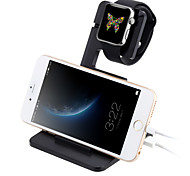 Charging Stand Dock Station Cradle Durable Anti-skid Holder Display Mount for iWatch Apple Watch iPhone 6 6s plus iPad