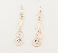 New Arrival Fashional Simple Rhinestone Earrings