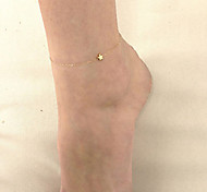 Stars Chain Anklet Bracelet Foot Jewelry Barefoot Sandal Beach Fun