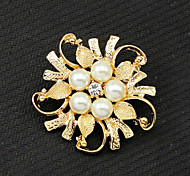 Z&X® Fashion Pearl Brooches Wedding / Party / Daily 1pc