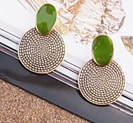Orecchino Orecchini a bottone Gioielli Da donna Lega 2 pezzi Argento