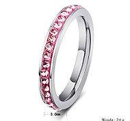Woman`s man Party  Work  Casual Titanium Steel Band Ring