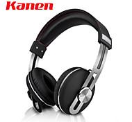 kanen ip-2030 fone de ouvido fones de ouvido com fio de fone de ouvido cabeça retro estéreo com microfone música