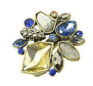 Fashion Vintage Style Colorful Rhinestone New Design Rings