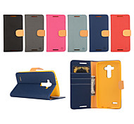 LG G4 PU Leather / TPU / Other Full Body Cases / Cases with Stand Special Design case cover